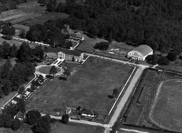 Campus Aerial Early 1930's