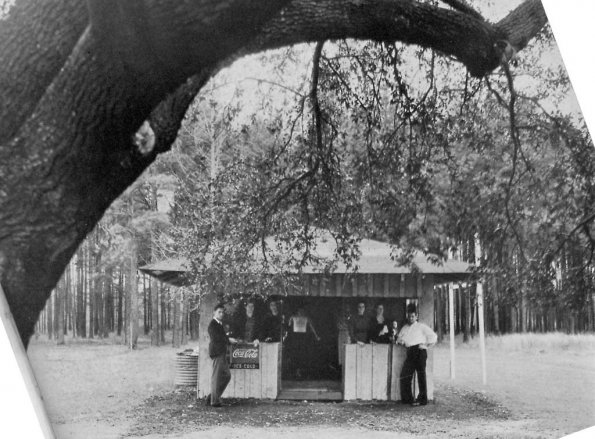 Snack bar under Friendship Oak