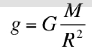gravitational force equation. you can see this equation is identical to the universal gravity except that there no \ gravitational force n